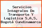 Servicios Integrales De Transporte Y Logística S.A.S. Bogotá Cundinamarca