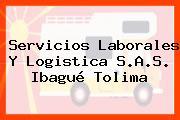 Servicios Laborales Y Logistica S.A.S. Ibagué Tolima