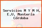 Servicios M Y M H. E.U. Montería Córdoba