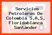 Servicios Petroleros De Colombia S.A.S. Floridablanca Santander