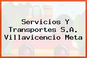 Servicios Y Transportes S.A. Villavicencio Meta
