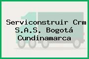 Serviconstruir Crm S.A.S. Bogotá Cundinamarca