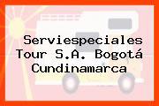 Serviespeciales Tour S.A. Bogotá Cundinamarca