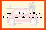 Servitbol S.A.S. Bolívar Antioquia