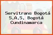 Servitrans Bogotá S.A.S. Bogotá Cundinamarca