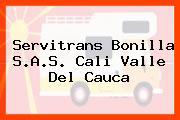 Servitrans Bonilla S.A.S. Cali Valle Del Cauca