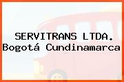SERVITRANS LTDA. Bogotá Cundinamarca