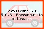 Servitrans S.M. S.A.S. Barranquilla Atlántico