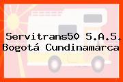 Servitrans50 S.A.S. Bogotá Cundinamarca