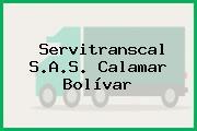 Servitranscal S.A.S. Calamar Bolívar