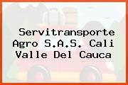 Servitransporte Agro S.A.S. Cali Valle Del Cauca