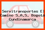 Servitransportes El Camino S.A.S. Bogotá Cundinamarca