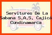 Servitures De La Sabana S.A.S. Cajicá Cundinamarca