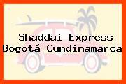 Shaddai Express Bogotá Cundinamarca