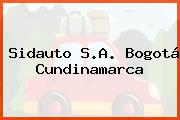 Sidauto S.A. Bogotá Cundinamarca