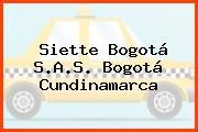 Siette Bogotá S.A.S. Bogotá Cundinamarca