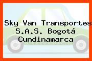Sky Van Transportes S.A.S. Bogotá Cundinamarca