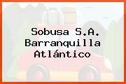 Sobusa S.A. Barranquilla Atlántico