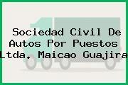 Sociedad Civil De Autos Por Puestos Ltda. Maicao Guajira