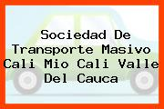Sociedad De Transporte Masivo Cali Mio Cali Valle Del Cauca