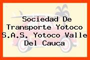 Sociedad De Transporte Yotoco S.A.S. Yotoco Valle Del Cauca