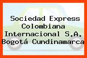 Sociedad Express Colombiana Internacional S.A. Bogotá Cundinamarca