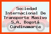 Sociedad Internacional De Transporte Masivo S.A. Bogotá Cundinamarca