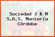 Sociedad J & M S.A.S. Montería Córdoba