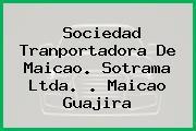 Sociedad Tranportadora De Maicao. Sotrama Ltda. . Maicao Guajira