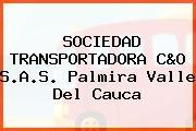 SOCIEDAD TRANSPORTADORA C&O S.A.S. Palmira Valle Del Cauca