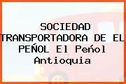 SOCIEDAD TRANSPORTADORA DE EL PEÑOL El Peñol Antioquia