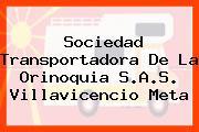 Sociedad Transportadora De La Orinoquia S.A.S. Villavicencio Meta