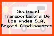 Sociedad Transportadora De Los Andes S.A. Bogotá Cundinamarca