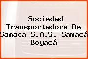 Sociedad Transportadora De Samaca S.A.S. Samacá Boyacá