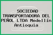 SOCIEDAD TRANSPORTADORA DEL PEÑOL LTDA Medellín Antioquia