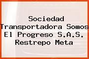 Sociedad Transportadora Somos El Progreso S.A.S. Restrepo Meta