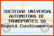 SOCIEDAD UNIVERSAL AUTOMOTORA DE TRANSPORTES SA Bogotá Cundinamarca