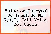 Solucion Integral De Traslado Ml S.A.S. Cali Valle Del Cauca