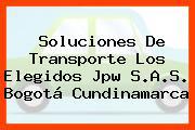 Soluciones De Transporte Los Elegidos Jpw S.A.S. Bogotá Cundinamarca