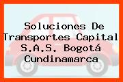Soluciones De Transportes Capital S.A.S. Bogotá Cundinamarca