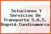Soluciones Y Servicios De Transporte S.A.S. Bogotá Cundinamarca