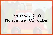 Soproas S.A. Montería Córdoba