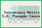 Sotracauca Mettro S.A. Popayán Cauca