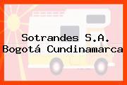 Sotrandes S.A. Bogotá Cundinamarca