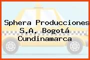 Sphera Producciones S.A. Bogotá Cundinamarca