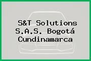 S&T Solutions S.A.S. Bogotá Cundinamarca