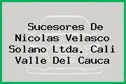 Sucesores De Nicolas Velasco Solano Ltda. Cali Valle Del Cauca