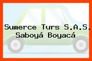 Sumerce Turs S.A.S. Saboyá Boyacá