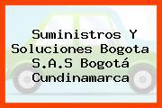 Suministros Y Soluciones Bogota S.A.S Bogotá Cundinamarca