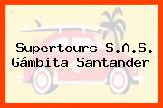 Supertours S.A.S. Gámbita Santander